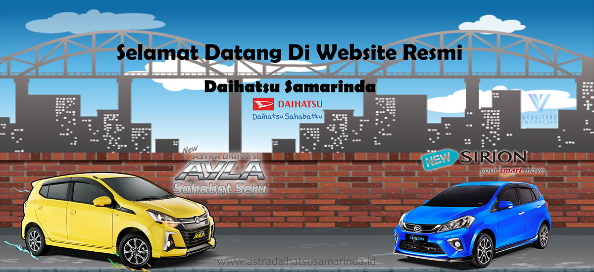 Slider Astra Daihatsu Samarinda By websiters Indonesia